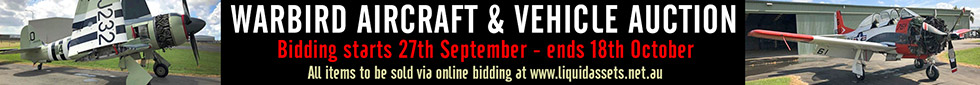 Vintage & Warbird Aircraft Auctions