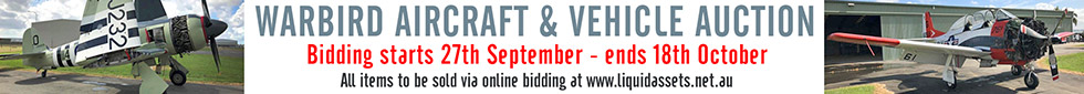 Vintage & Warbird Aircraft Auction