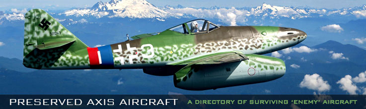 Preserved Axis Aircraft Directory